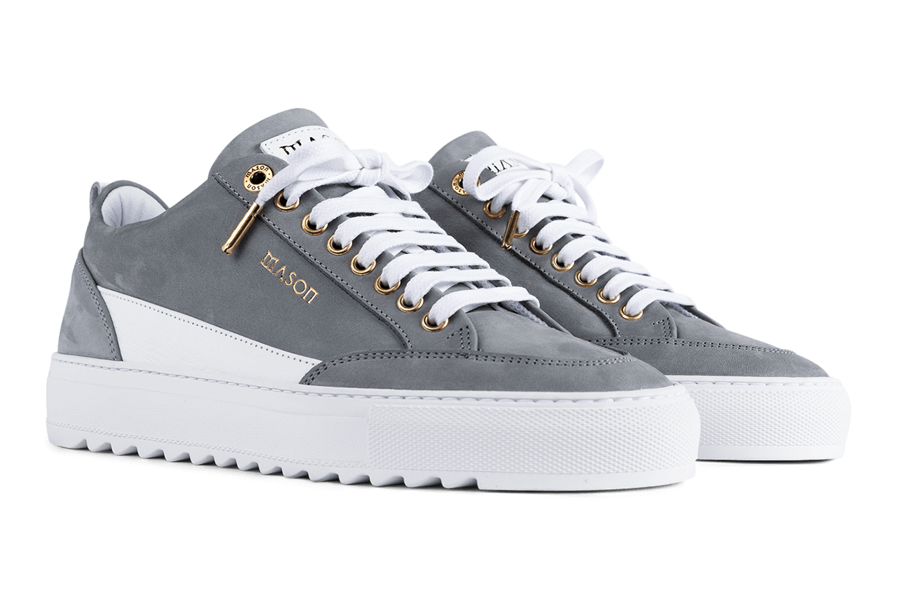 Mason Garments - Tia Nubuck/Leather Grey